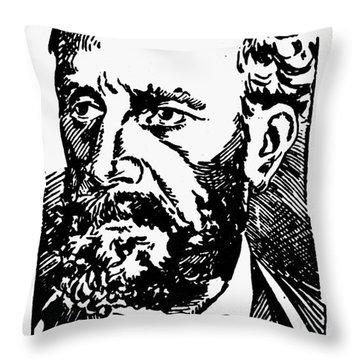 New Orleans: Mafia, 1891 Throw Pillow by Granger