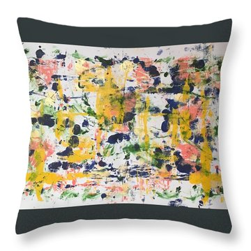 New Orleans No 2 Throw Pillow