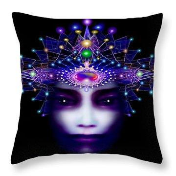 Celestial  Beauty Throw Pillow