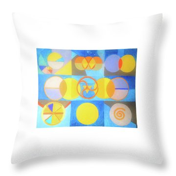 Geometrica 1 Throw Pillow