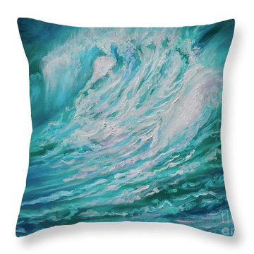 New Wave 11 Throw Pillow