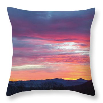 New Year Dawn - 2016 December 31 Throw Pillow