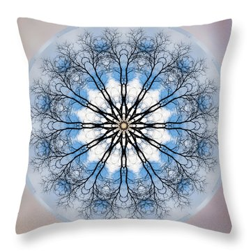 New Year Mandala - Throw Pillow