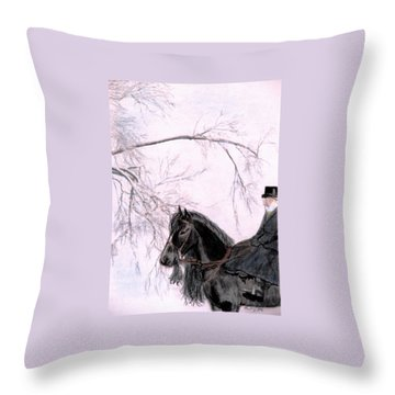 New Year's Resolution Throw Pillow by Angela Davies