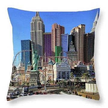 New York , New York Throw Pillow