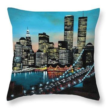 New York 910 Throw Pillow
