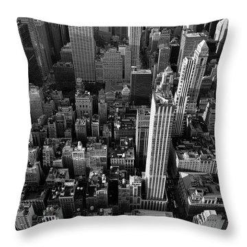 New York, New York 5 Throw Pillow