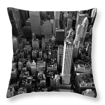New York, New York 5 Throw Pillow