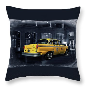 New York - New York Throw Pillow by Steven Agius