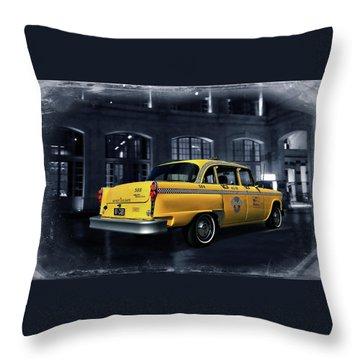 New York - New York Throw Pillow