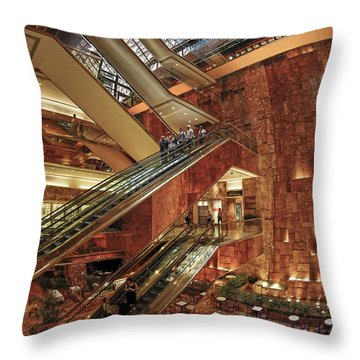 Throw Pillow featuring the photograph New York Trump Tower  by Juergen Held