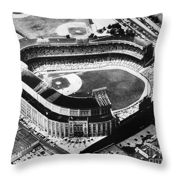 New York: Yankee Stadium Throw Pillow