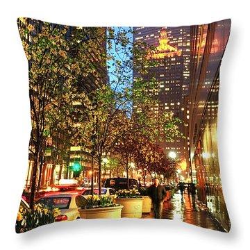 New York06 Throw Pillow by Svetlana Sewell