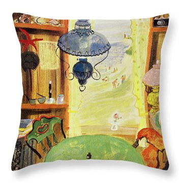 New Yorker August 1 1959 Throw Pillow
