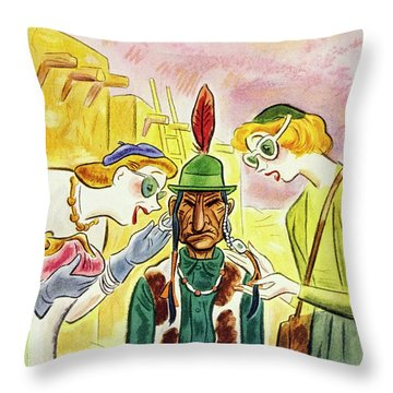 New Yorker August 16 1947 Throw Pillow