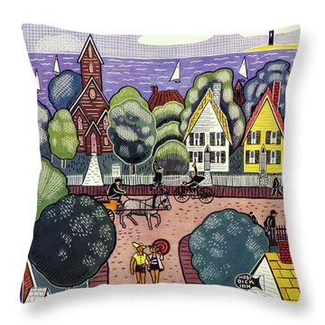 New Yorker August 6th, 1938 Throw Pillow
