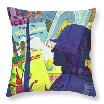 New Yorker August 9 1941 Throw Pillow