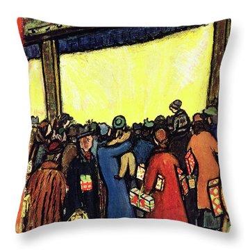 New Yorker December 12 1953 Throw Pillow