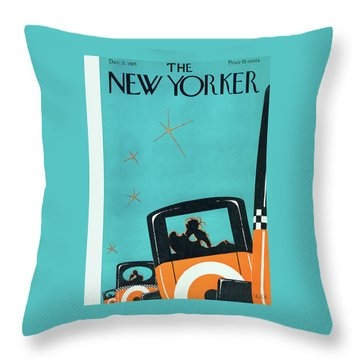 New Yorker December 5 1925 Throw Pillow