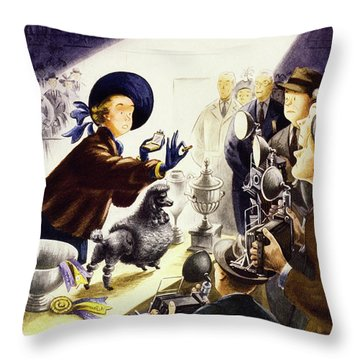 New Yorker February 9 1952 Throw Pillow