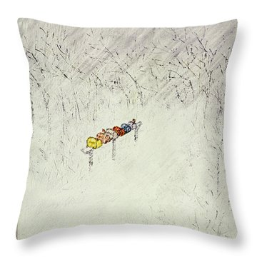 New Yorker January 22 1955 Throw Pillow