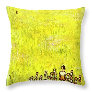New Yorker July 11 1953 Throw Pillow