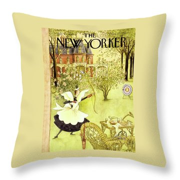 New Yorker July 15 1950 Throw Pillow