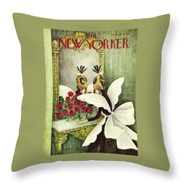 New Yorker July 18 1942 Throw Pillow