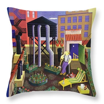 New Yorker July 19 1941 Throw Pillow