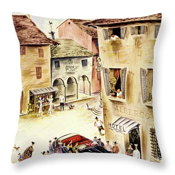 New Yorker July 23 1949 Throw Pillow