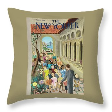 New Yorker June 7 1941 Throw Pillow