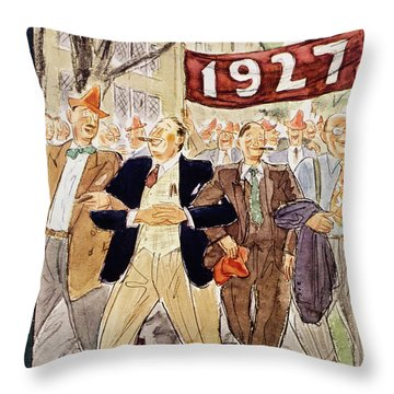 New Yorker June 7 1952 Throw Pillow