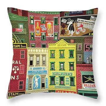 New Yorker March 18 1944 Throw Pillow