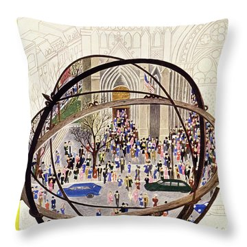 New Yorker May 12 1951 Throw Pillow