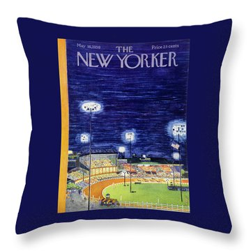 New Yorker May 16 1959  Throw Pillow