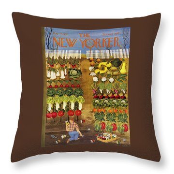 New Yorker May 17 1952 Throw Pillow