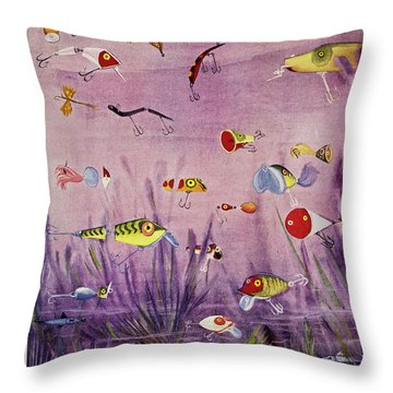 New Yorker May 25 1957 Throw Pillow