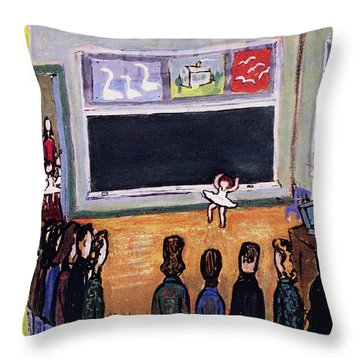 New Yorker May 28 1955 Throw Pillow