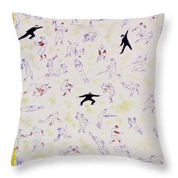 New Yorker October 1 1955 Throw Pillow