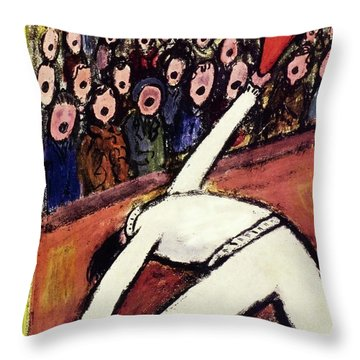 New Yorker October 14 1950 Throw Pillow