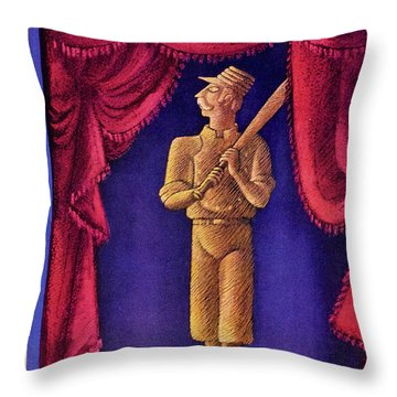 New Yorker October 2 1954 Throw Pillow