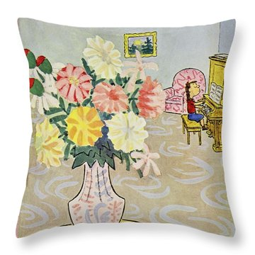 New Yorker September 13 1958 Throw Pillow