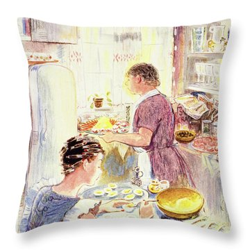 New Yorker September 18 1954 Throw Pillow