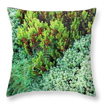 Throw Pillow featuring the photograph New Zealand Flora by Michele Penner