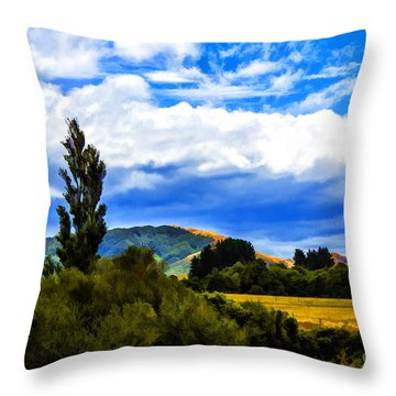 New Zealand Legacy Throw Pillow