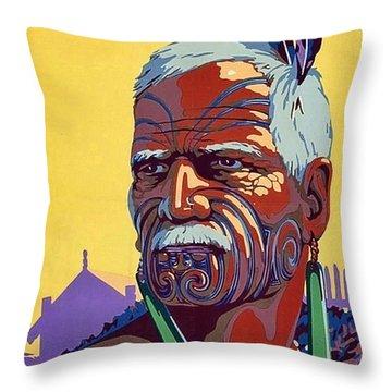 Maori Throw Pillows