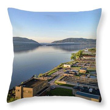 Newburgh And The Hudson Highlands Throw Pillow