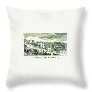 Newburgh Broadway - 01 Throw Pillow