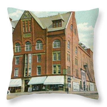 Newburgh Broadway - 02 Throw Pillow