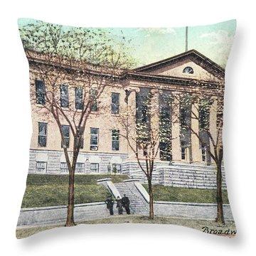 Newburgh Broadway - 03 Throw Pillow